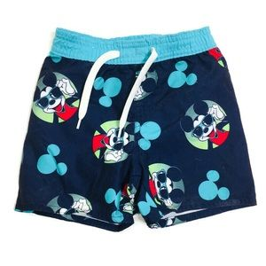 Disney Mickey Mouse toddler 12-18M swimming shorts